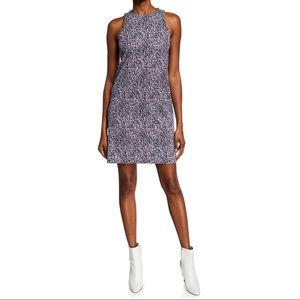 NWT Michael Kors Purple Mini Ikat Tank Dress
